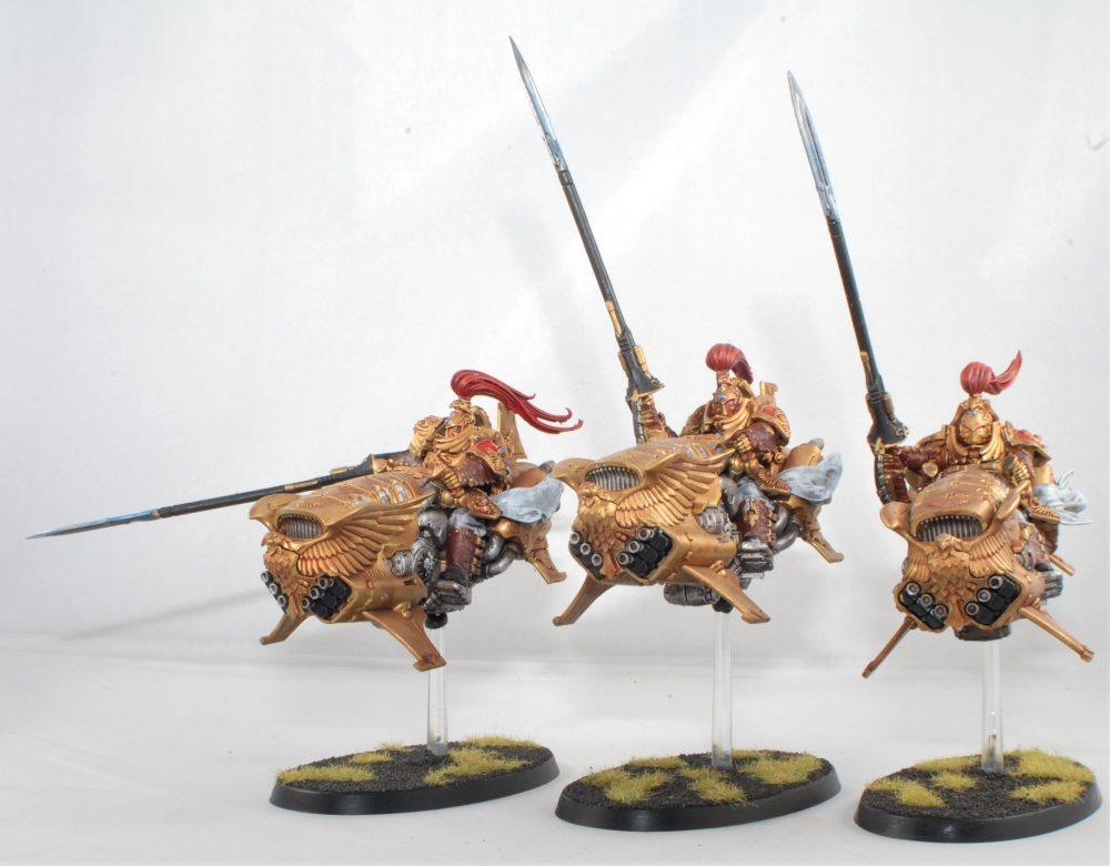 Adeptus Custodes Vertus Praetors of the Emissaries Imperatus