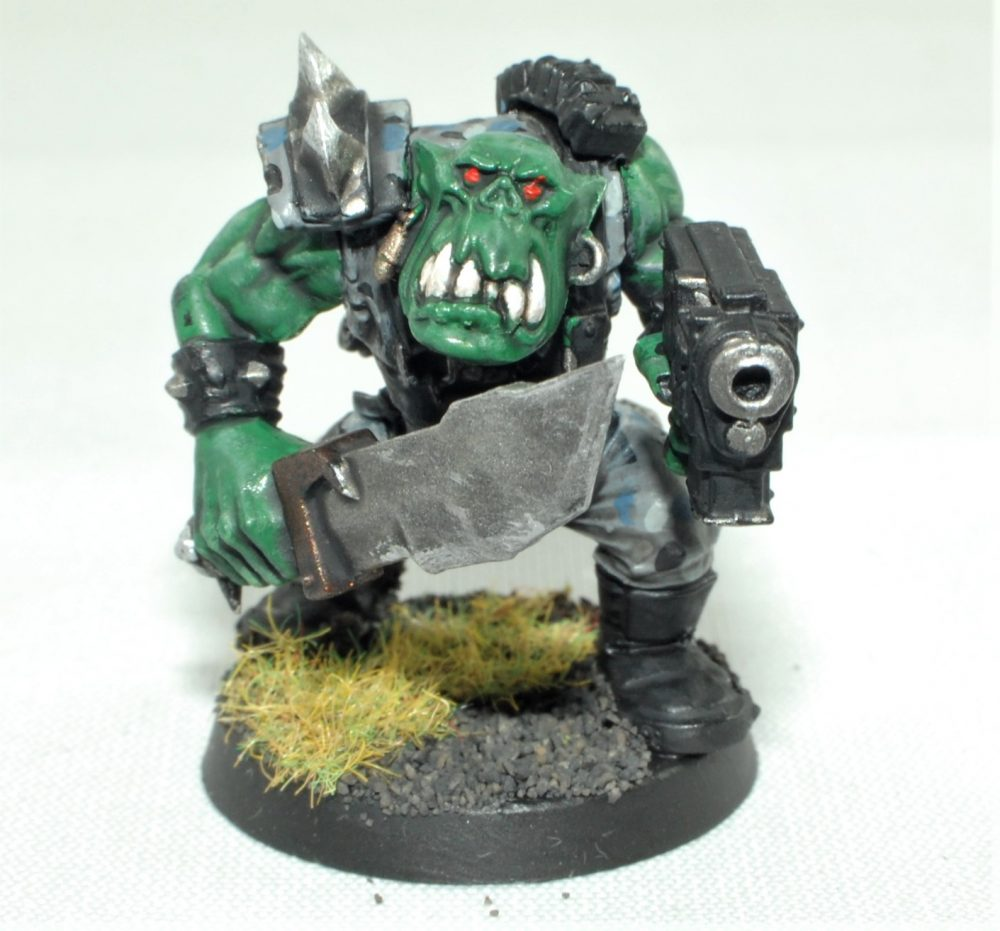 blood axe ork boy