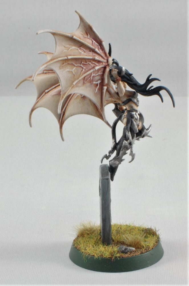 vampire with wings AOS, sigmar