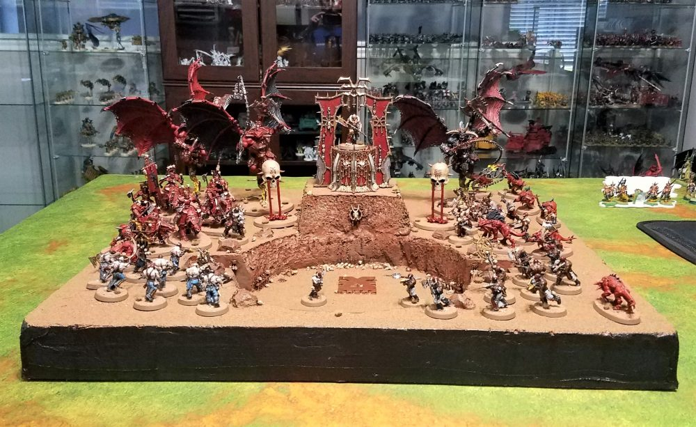 Khorne display table