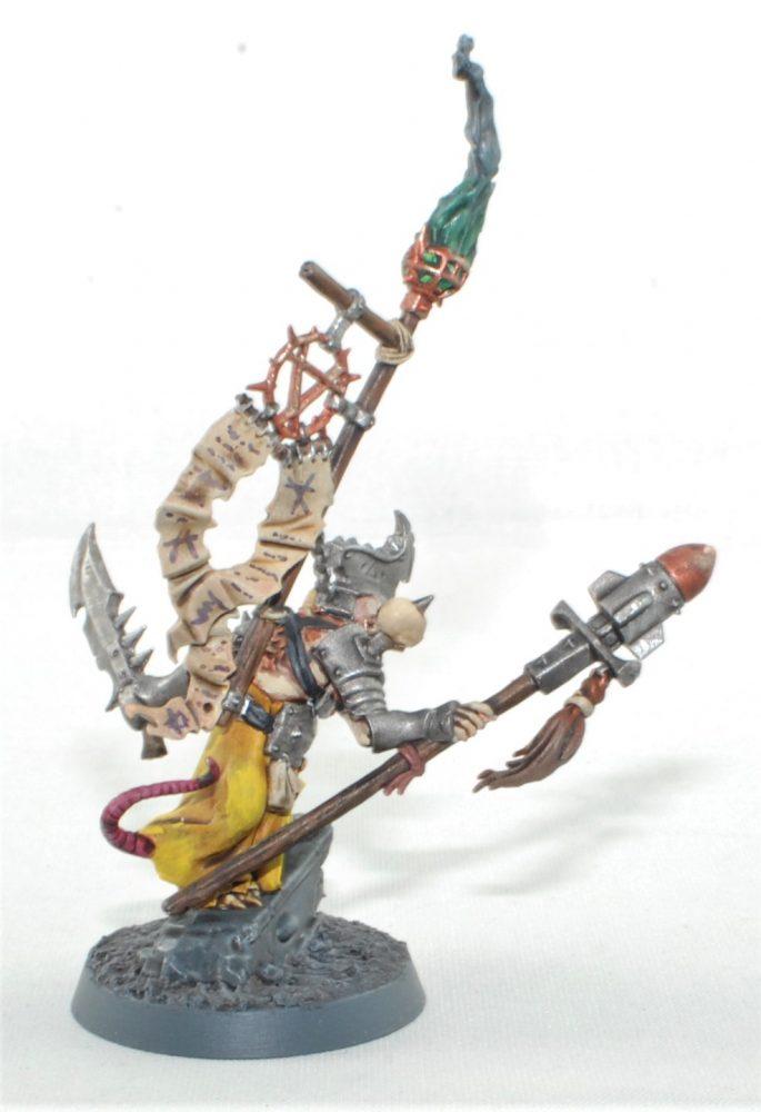 skaven yellow Warlock Bombardiers